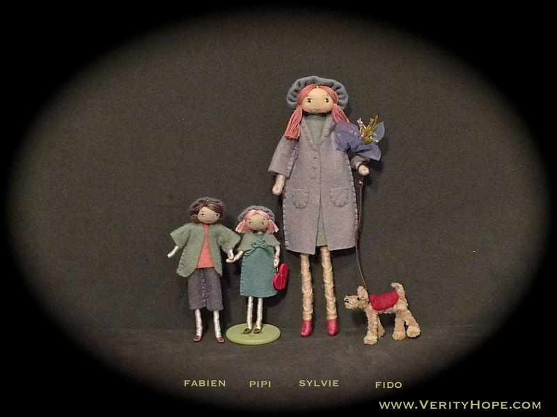 Felt dolls on etsy