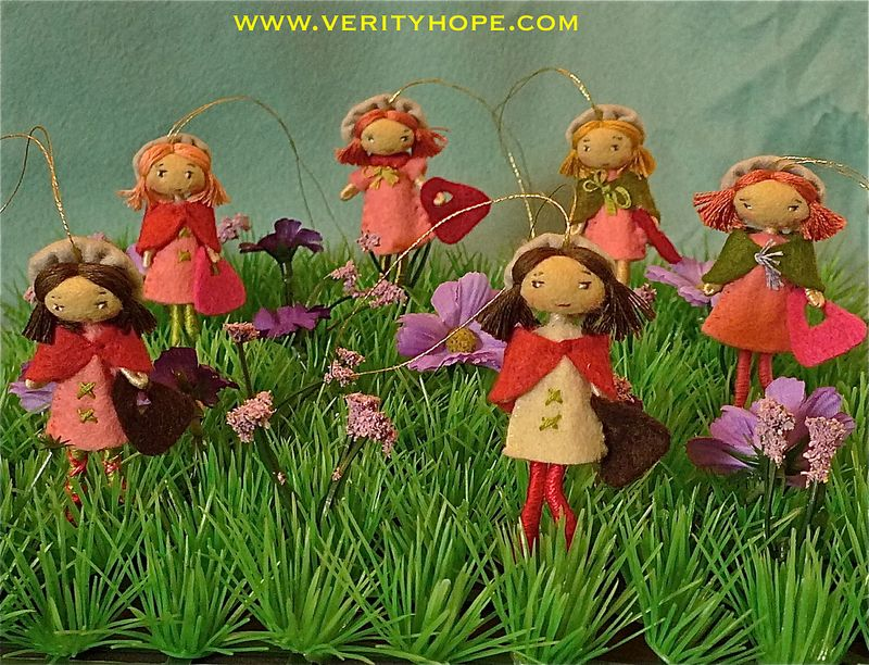 Verity hope felt dolls etsy
