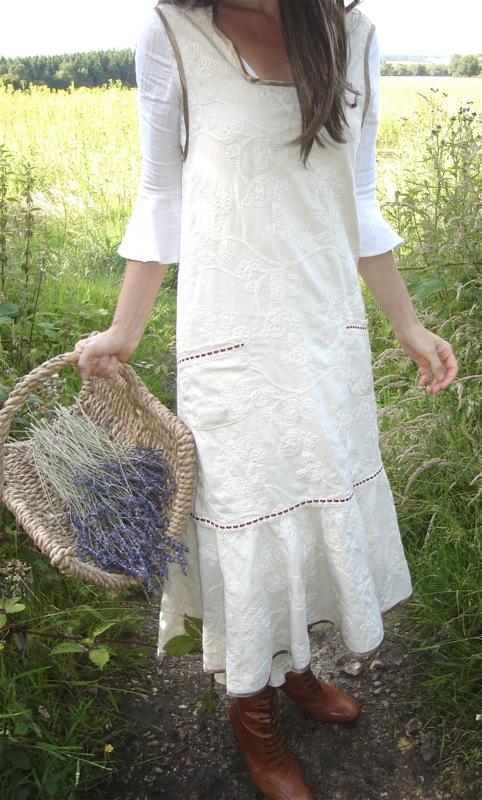 Verity hope apron dress