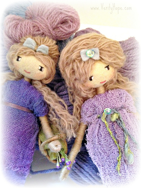 Embroidered art doll 3
